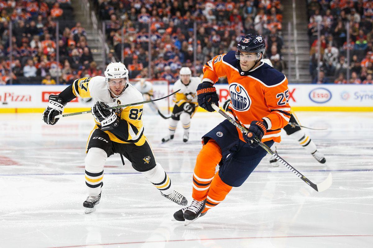 Pittsburgh Penguins v Edmonton Oilers