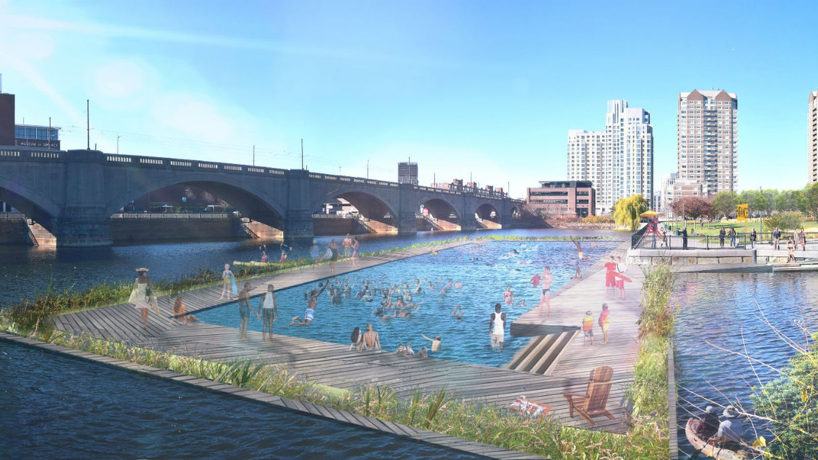 Charles River Swim Park Organizers To Hold Public Meetings