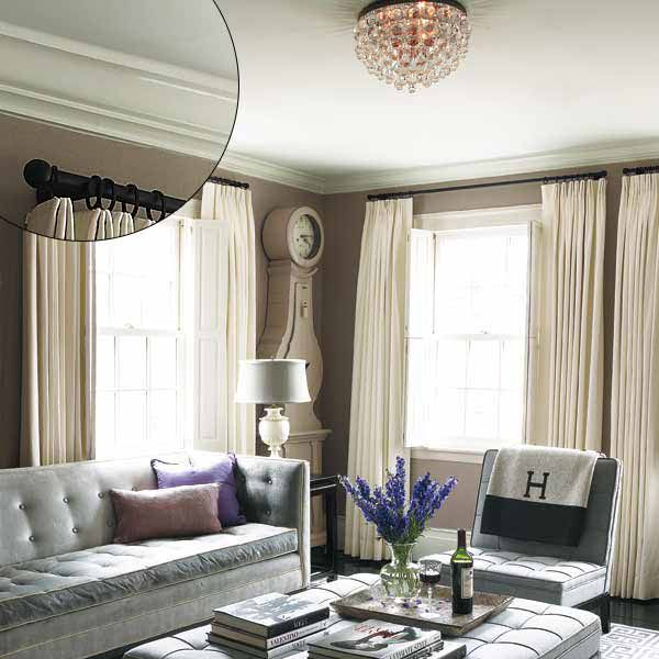 Federal Style Crown Molding With Low Ceiling