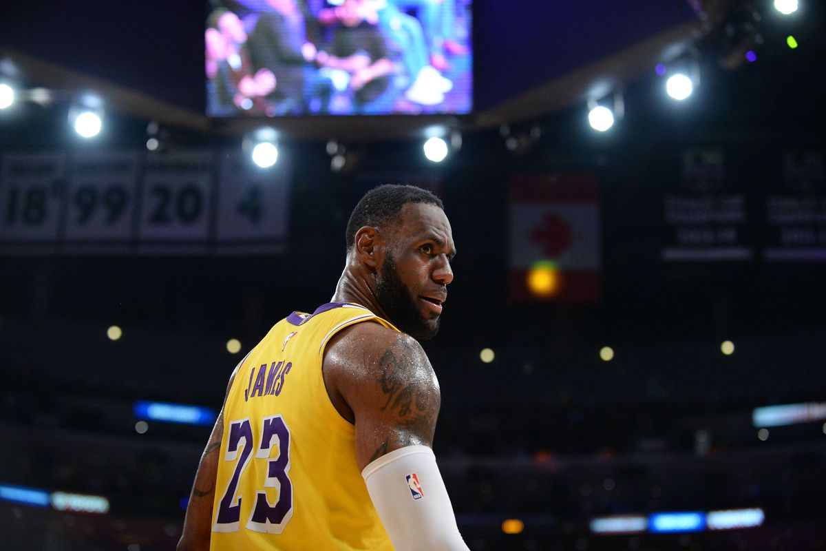 18d64dac1e7 LeBron James says the Lakers being out of playoff contention is   challenging