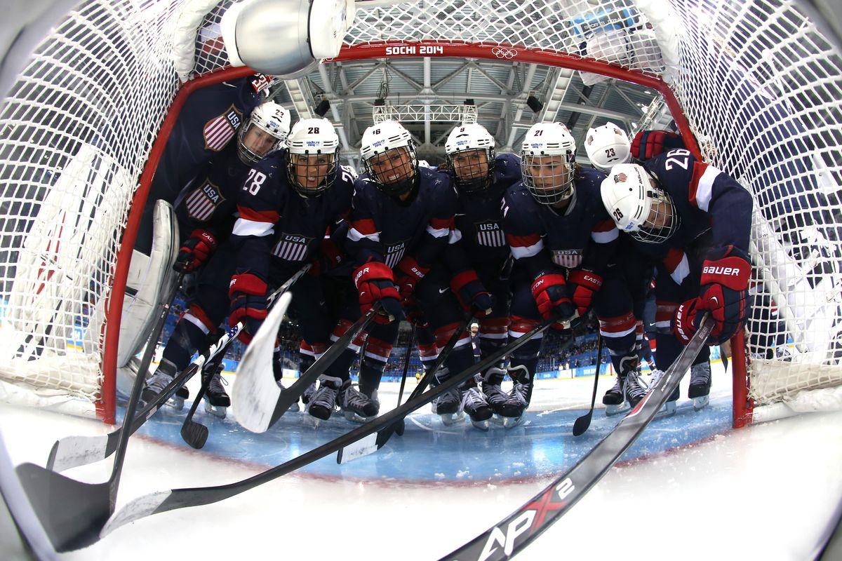 Ice Hockey - Winter Olympics Day 10 - United States v Sweden