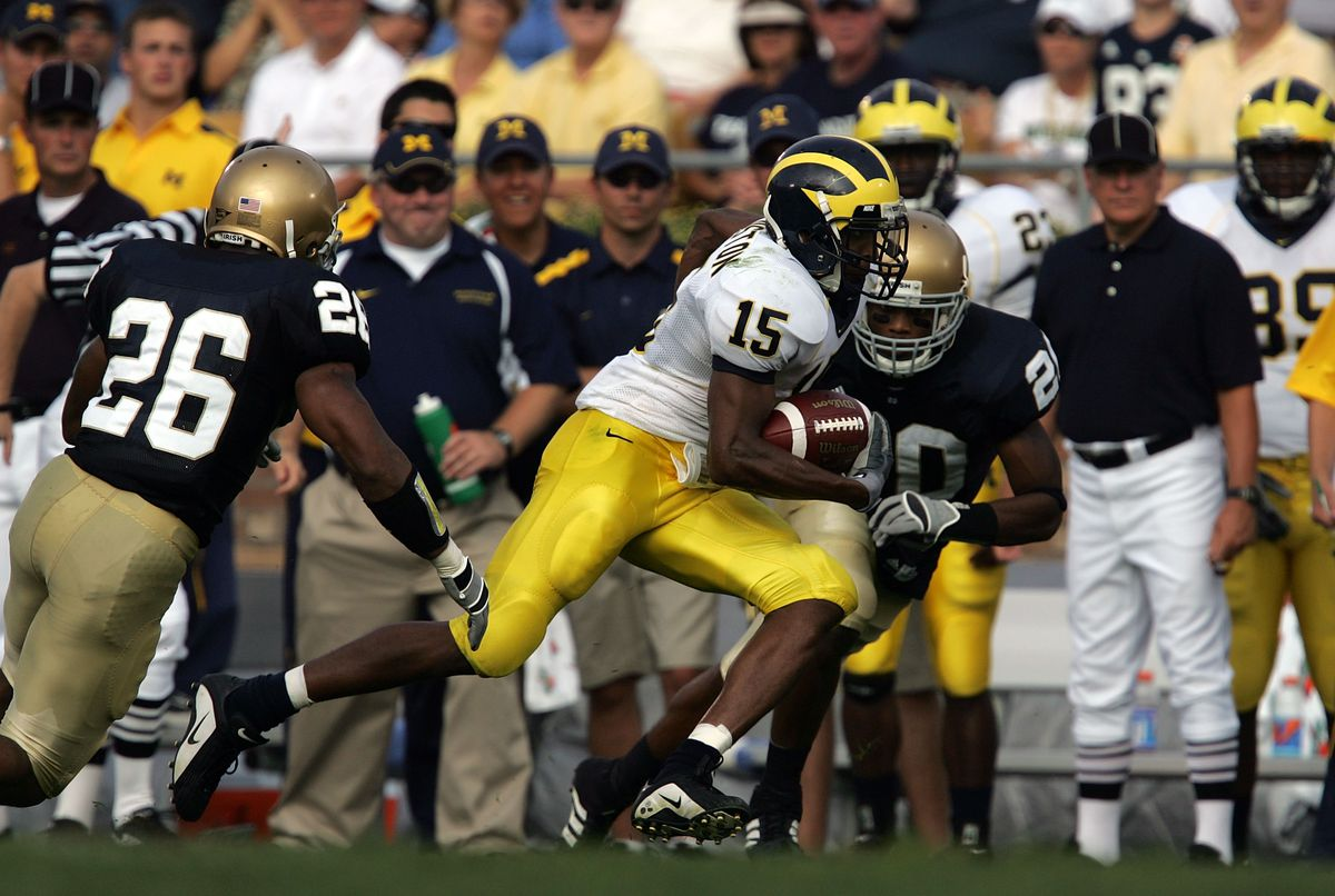 Michigan Wolverines v Notre Dame Fighting Irish
