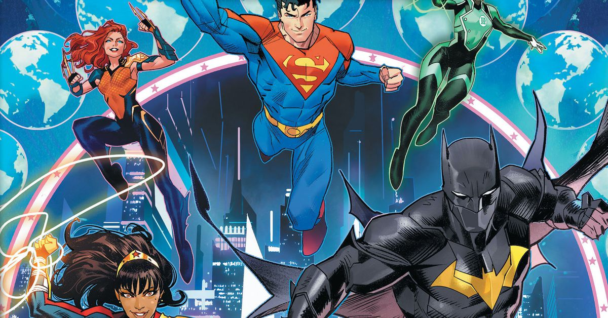 The DC Universe is taking a giant leap into the future