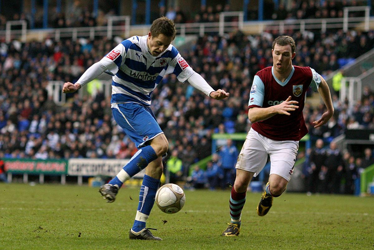 Soccer - FA Cup - Fourth Round - Reading v Burnley - Madejski Stadium