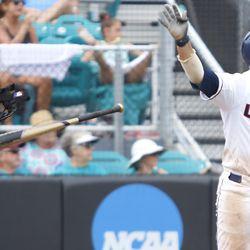 Pro tip: Always bat-flip your first collegiate home run.