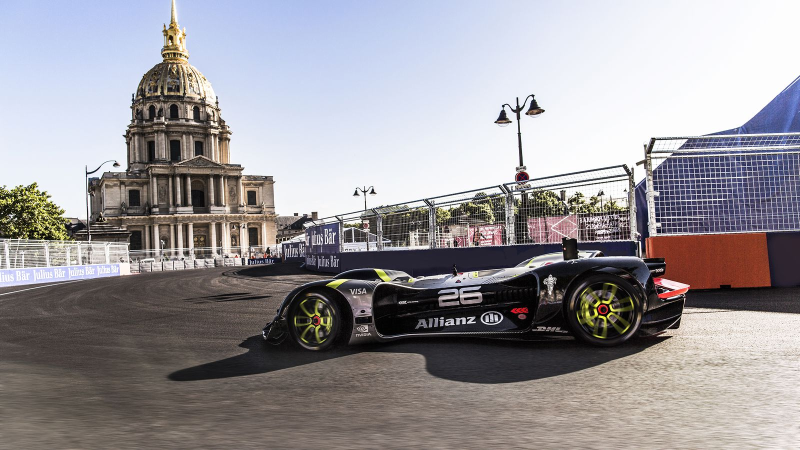 Watch Roborace's self-driving racecar lap a circuit for the