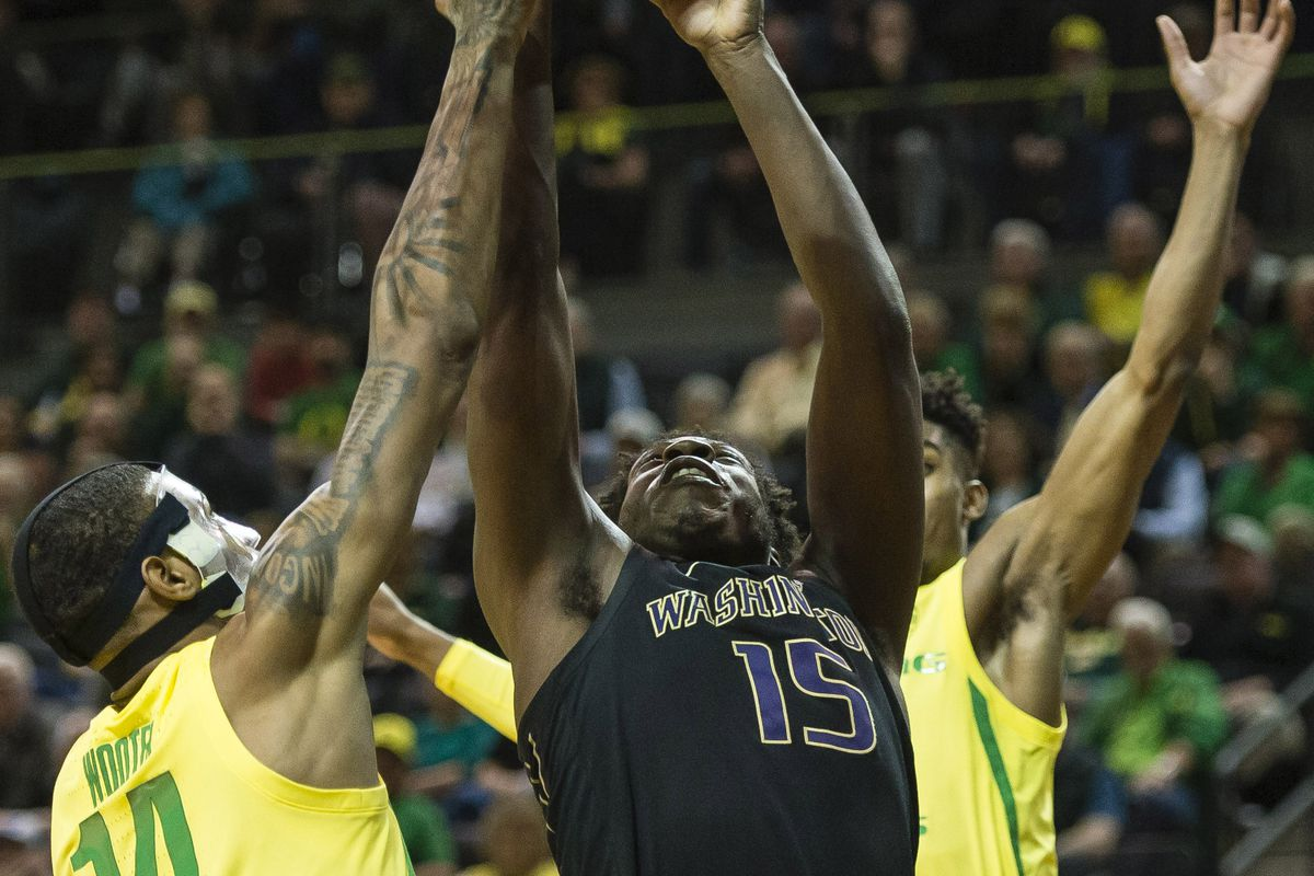 NCAA Basketball: Washington at Oregon