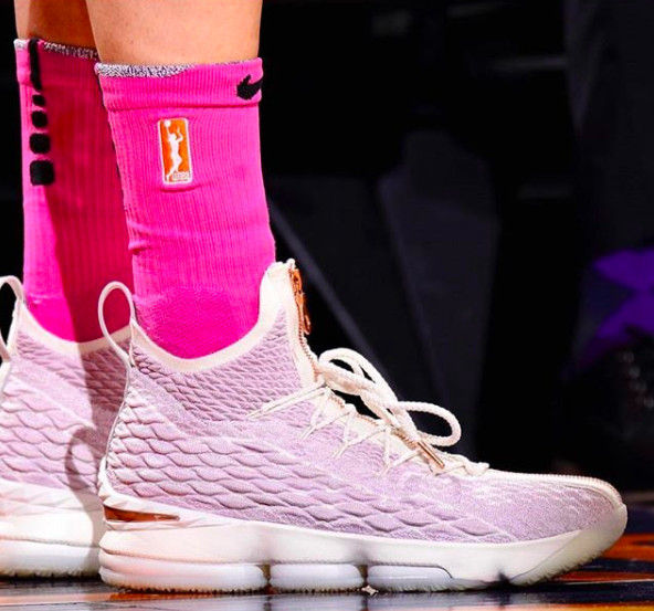 Diana Taurasi has the best collection of LeBron 15 sneakers ... 0afec2e15