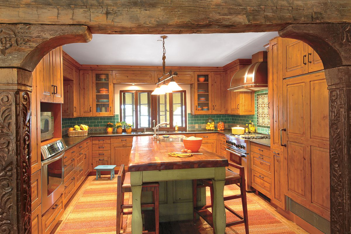A Modern Kitchen With an Old World Look - This Old House