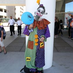 It wouldn't be Comic-Con without a creepy clown.