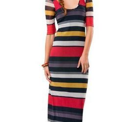"Becca multi maxi dress by Weston Wear, <a href=""http://shop.westonwear.com/index.php/just-in/becca-mul.html"">$148</a>"