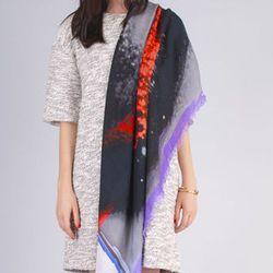 """<b>Cut 25 by Yigal Azrouel</b> Eyeshadow Scarf, <a href=""""http://www.spiritualameri.ca/accessories/scarves/eyeshadow-scarf.html"""">$185</a> at Spiritual America"""