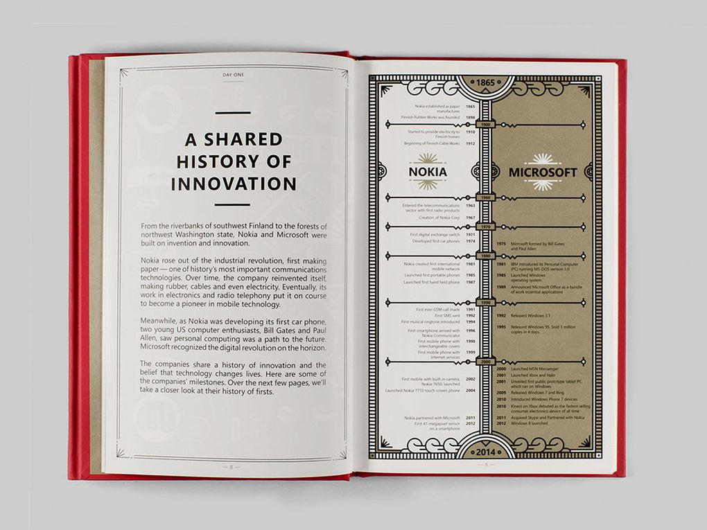 Microsoft made a secret book for Nokia employees before its