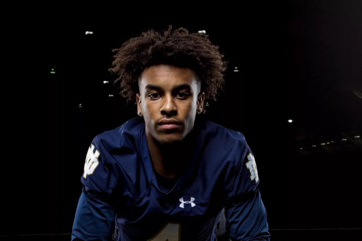 Early Signing Period 3 Star WR Kendall Abdur Rahman Signs With The Irish