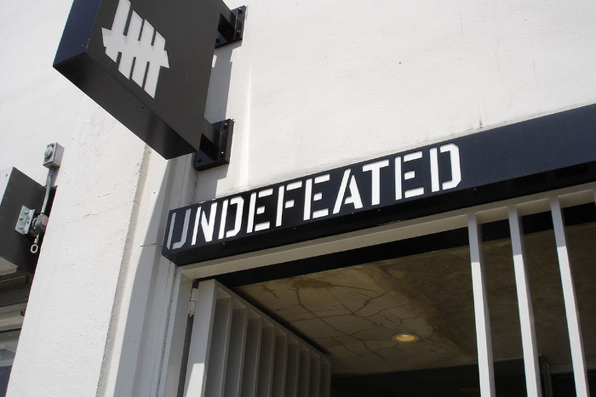 """Undefeated's current space. Image via <a href=""""http://www.kicksonfire.com/stores/united-states/california/undefeated-la/"""">Kicks on Fire</a>"""