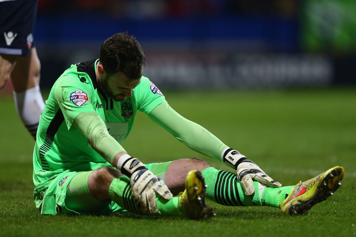Andy Lonergan conceded four goals for a second league match in a row at Derby yesterday