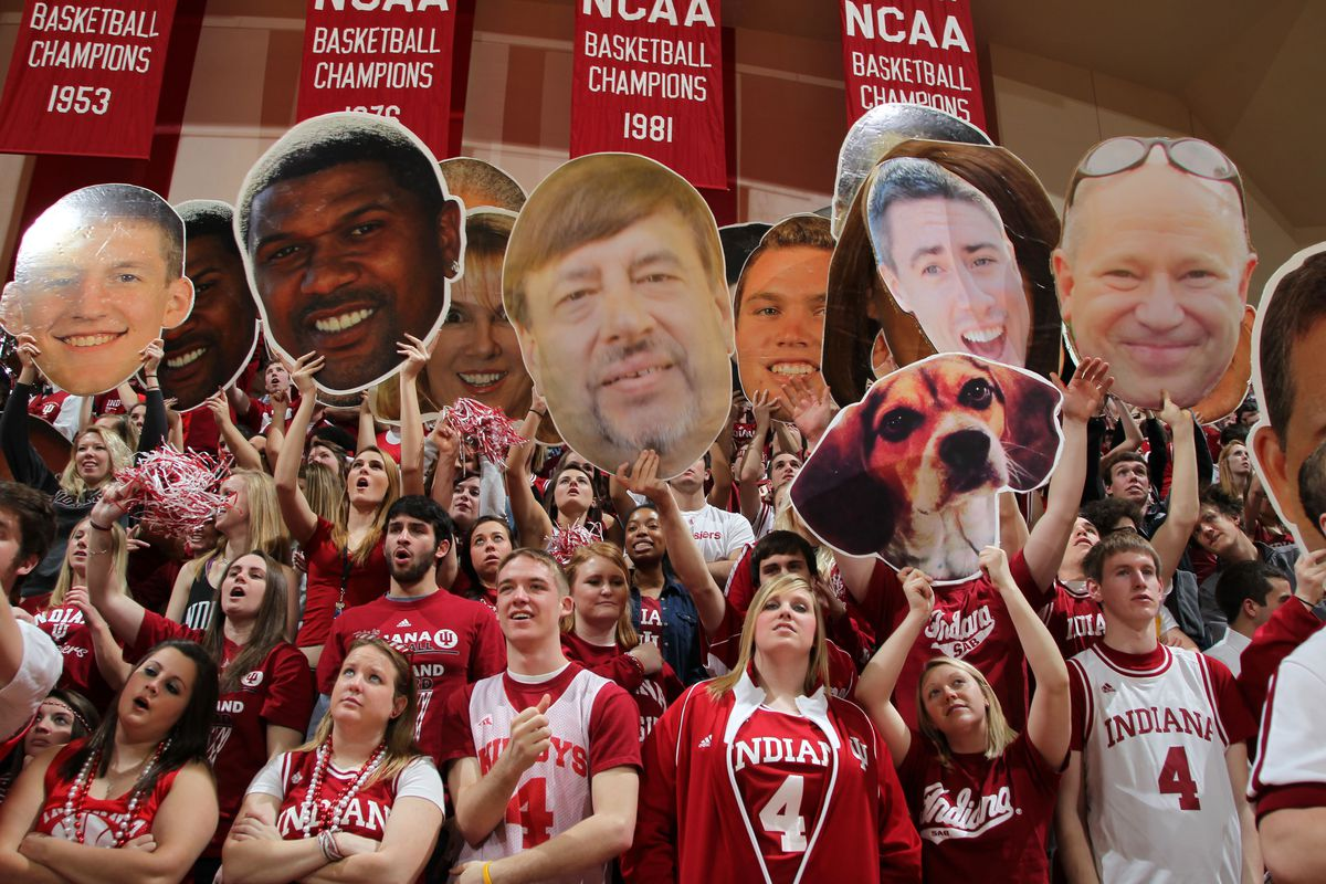 WHY IS A PICTURE OF MY DOG IN YOUR CROWD, INDIANA?  WHY?