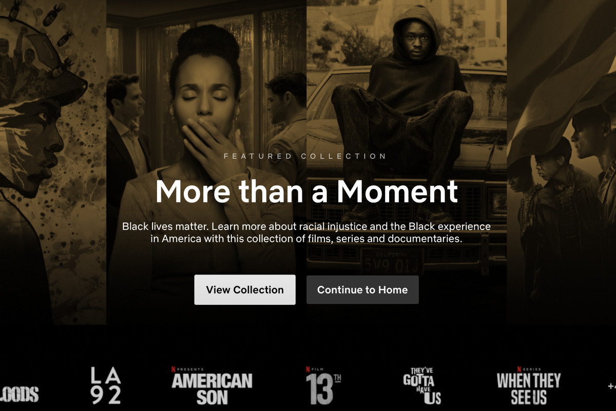 Netflix Black Lives Matter Collection Features Tv Shows And Movies Deseret News