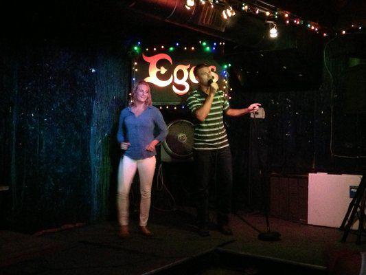 Karaoke at Ego's