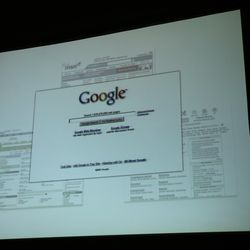 The early days of Google