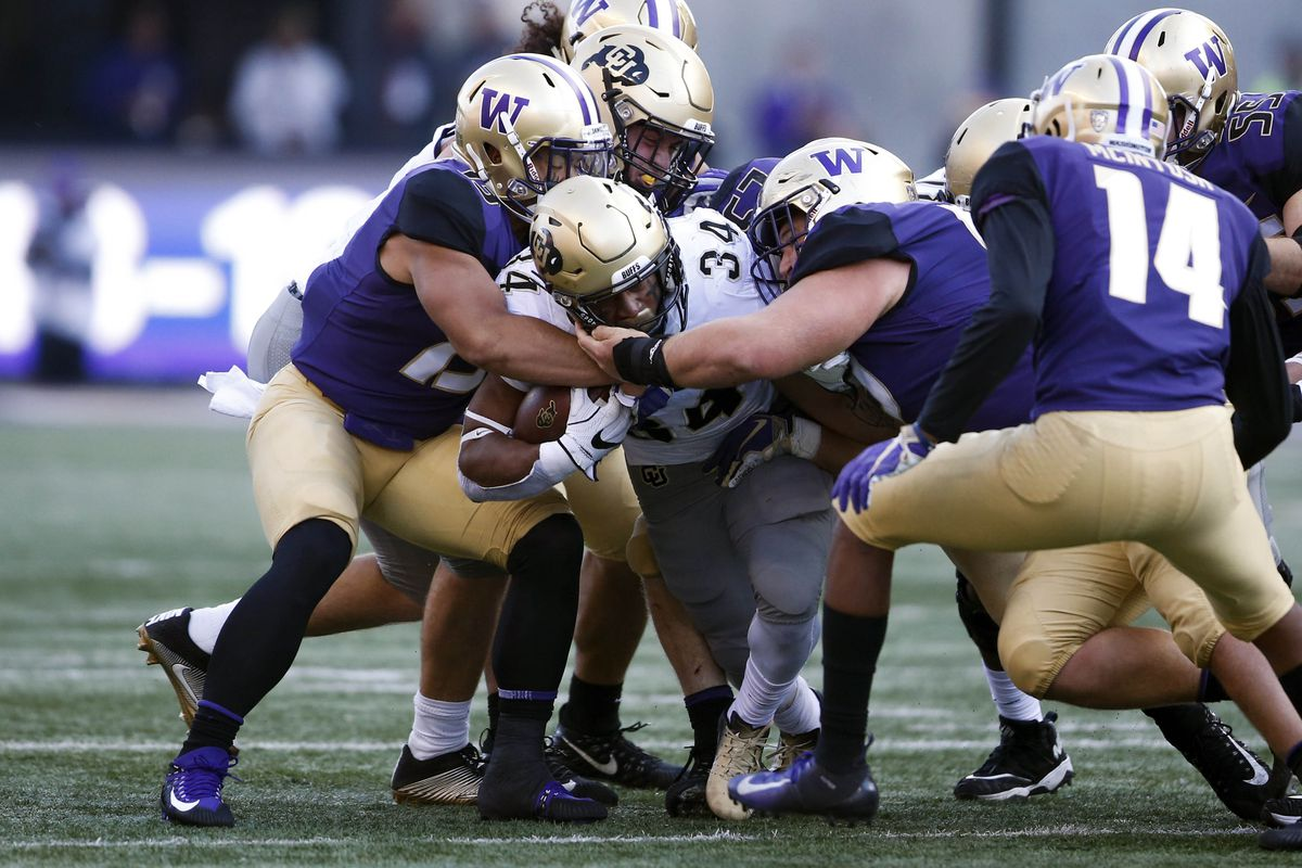 NCAA Football: Colorado at Washington
