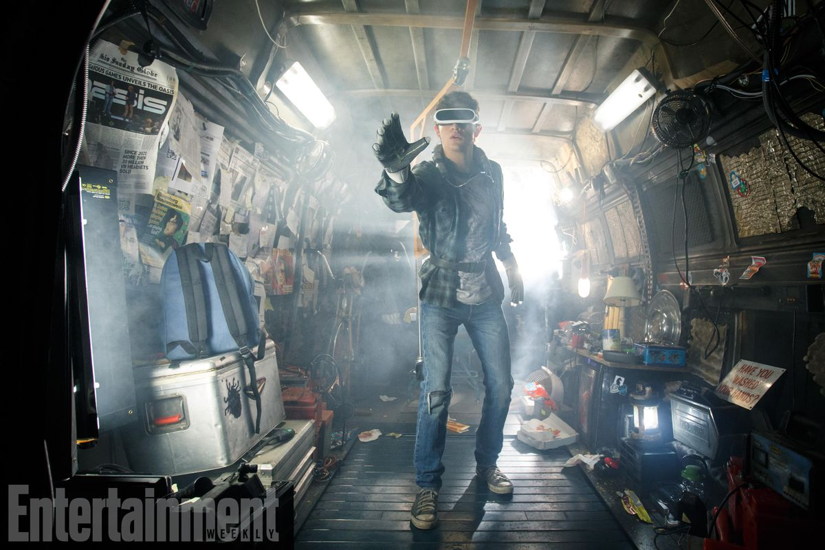 'Ready Player One' movie first look: Wade experiences the OASIS