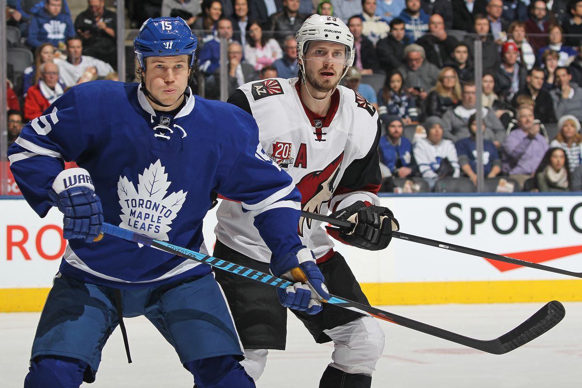 Coyotes look to sweep Maple Leafs - Five For Howling 3f4ea1f5d