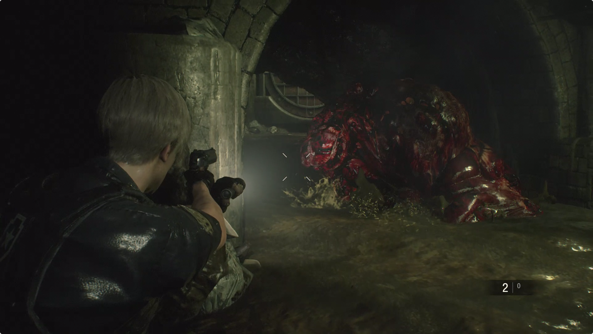 Resident Evil 2Leon meets a G-Adult