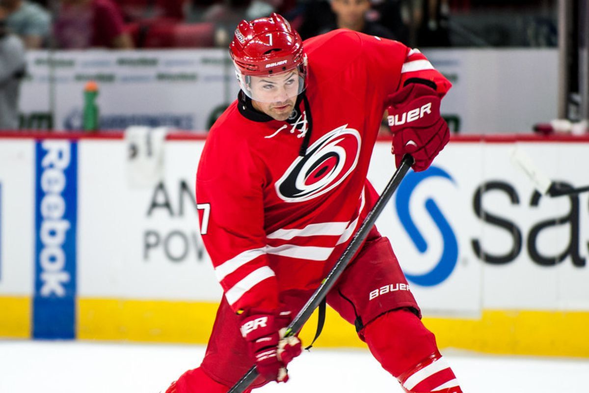 Ryan Murphy continues to lead the Hurricanes in shots on goal with 13, but has not scored in five games played.