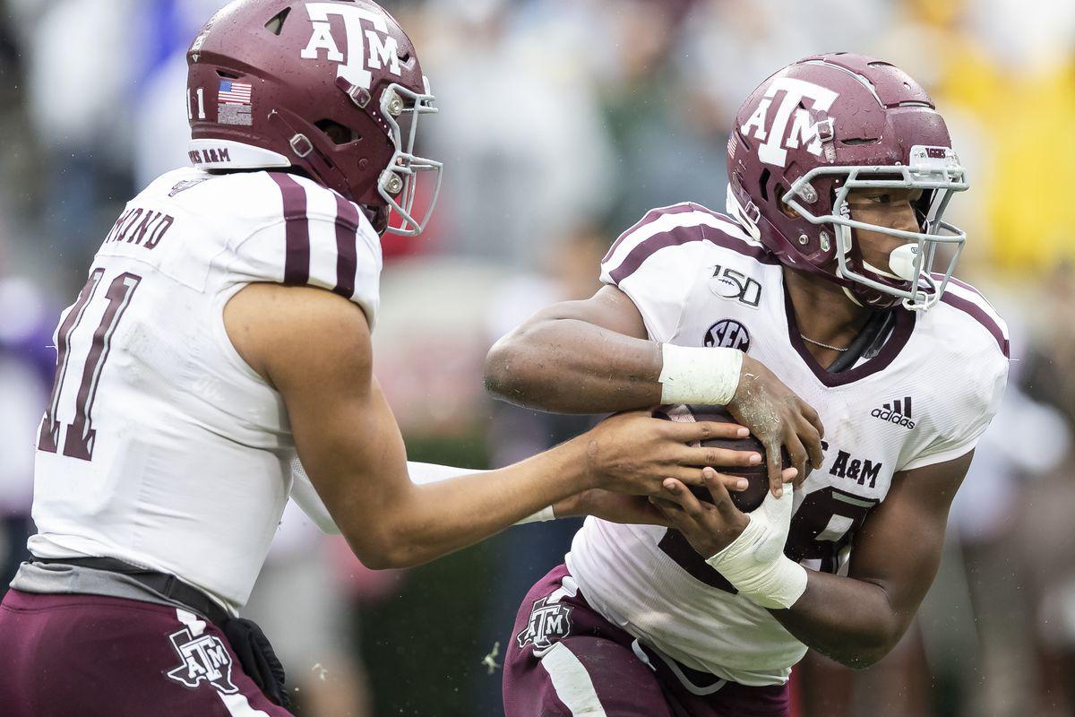 Texas A&M and Georgia Bulldogs
