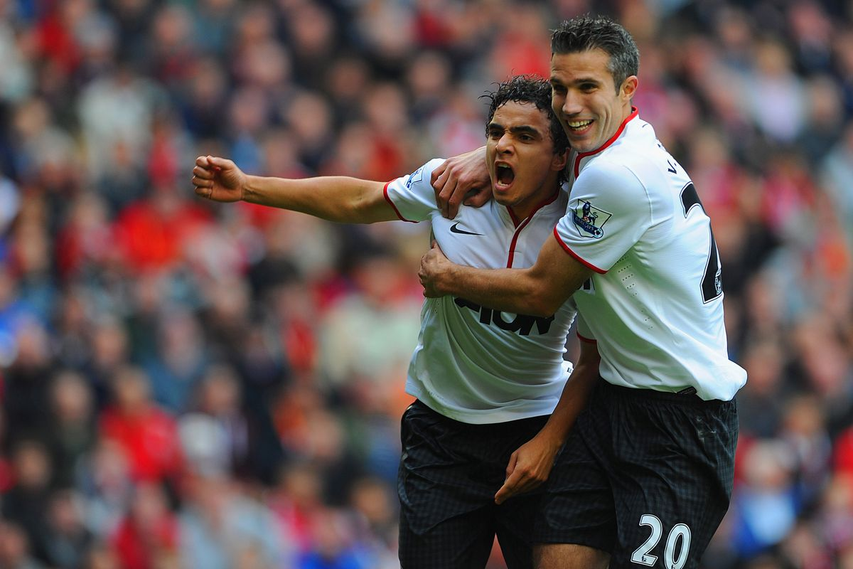 Posting a photo of my hunch pick sure worked a treat yesterday. Can Rafael make it two in two? I'd take an RVP goal, too.