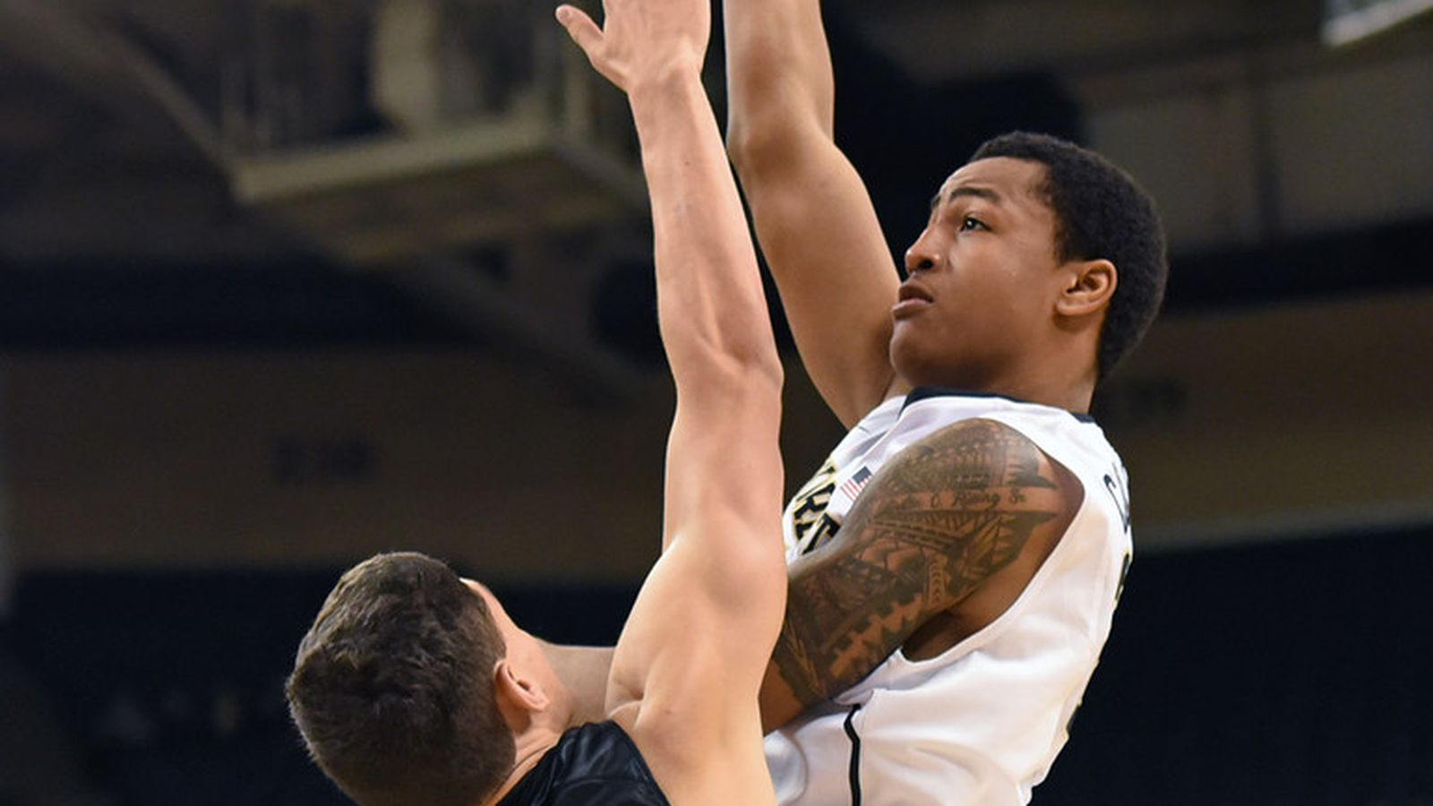 wake forest basketball player profile john collins