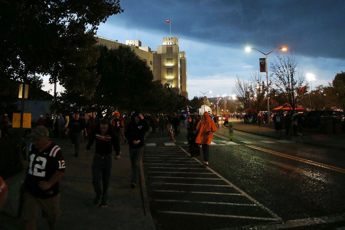 NCAA Football: North Carolina State at Virginia Tech