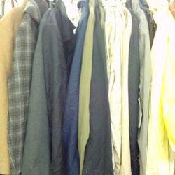 Men's coats, $50