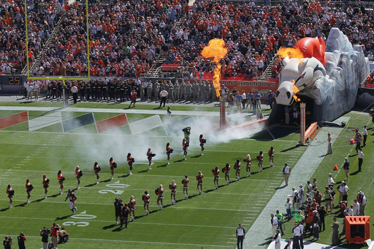 Might we call this Sports Authority Field at Mile High? (Photo by Doug Pensinger/Getty Images)