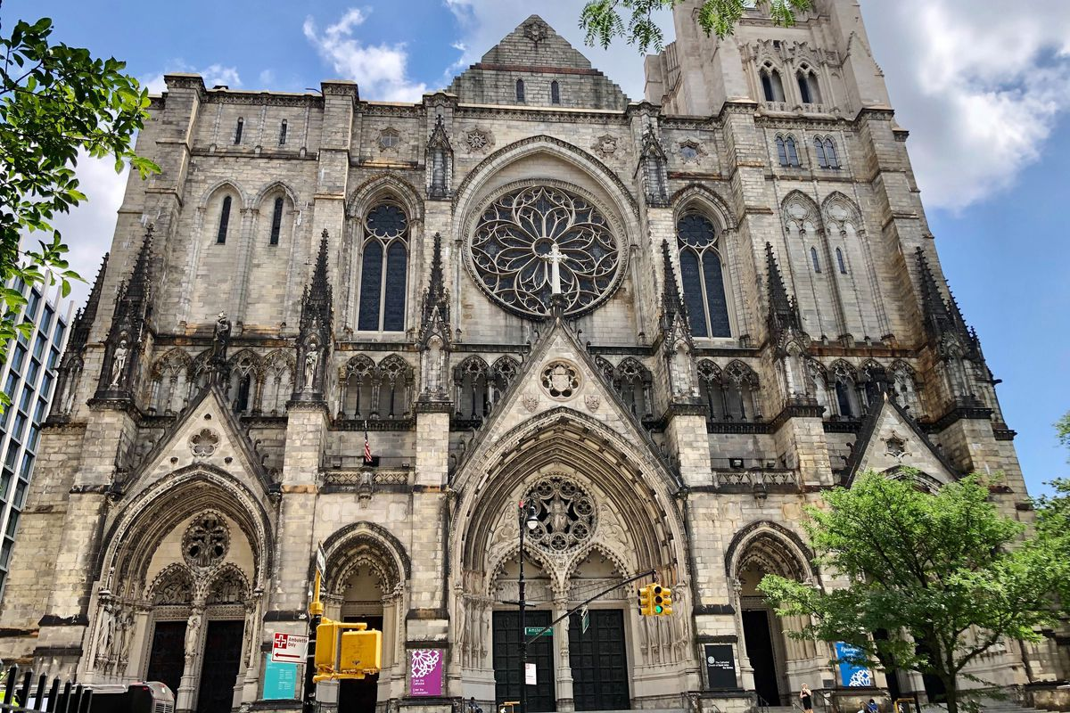 The Cathedral of Saint John the Divine in Morningside Heights has been identified as a possible space for a school or child care.