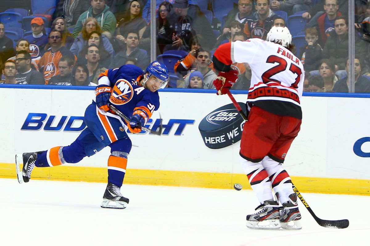 John Tavares has 19 points in 14 career games against the Hurricanes