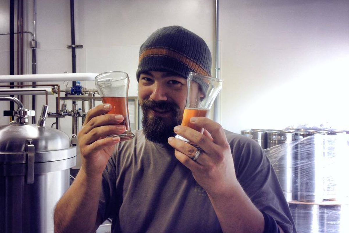 Justin Boswell of Wayward Owl Brewing