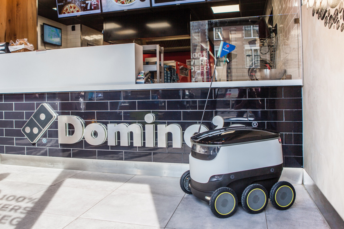 Domino S Is Going To Use Sidewalk Robots In Germany To