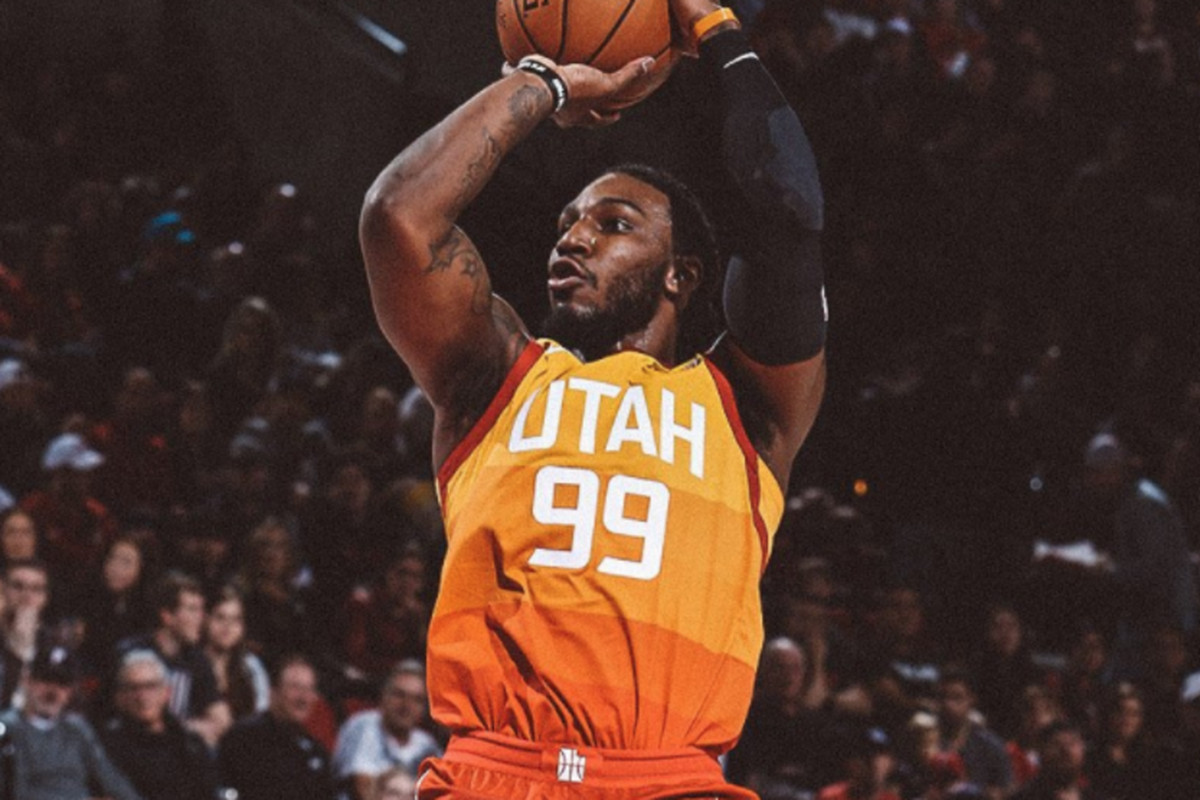 online retailer 34268 2201a Jae Crowder fitting right in with the Utah Jazz - SLC Dunk