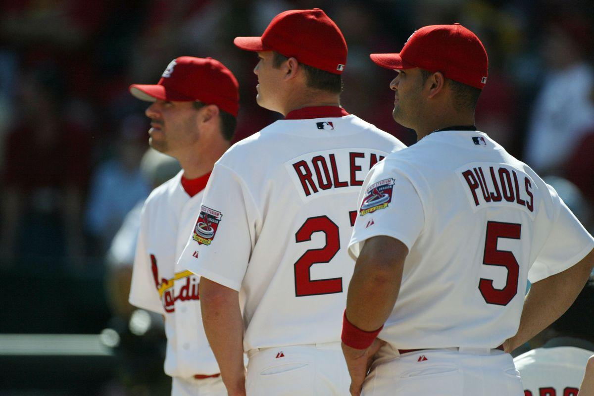 MLB 2005: Cincinnati Reds at St. Louis Cardinals