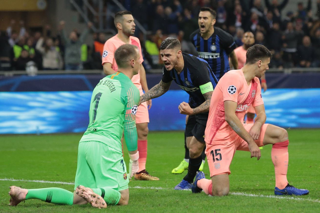 Inter Milan inches closer to Champions League knockout