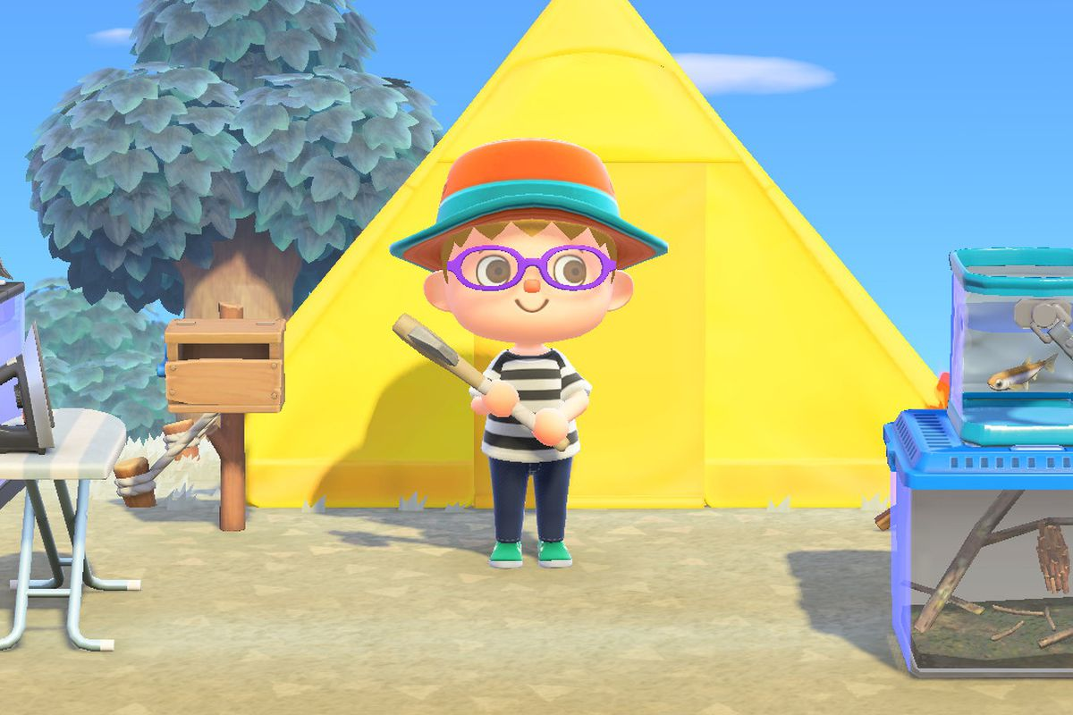 How To Find And Upgrade Tools Animal Crossing New Horizons Switch Guide Polygon