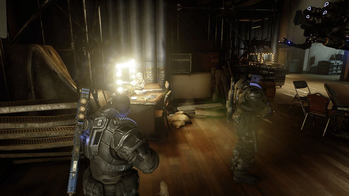 Gears 5 Act 1 Chapter 4 The Tide Turns collectible 6 location