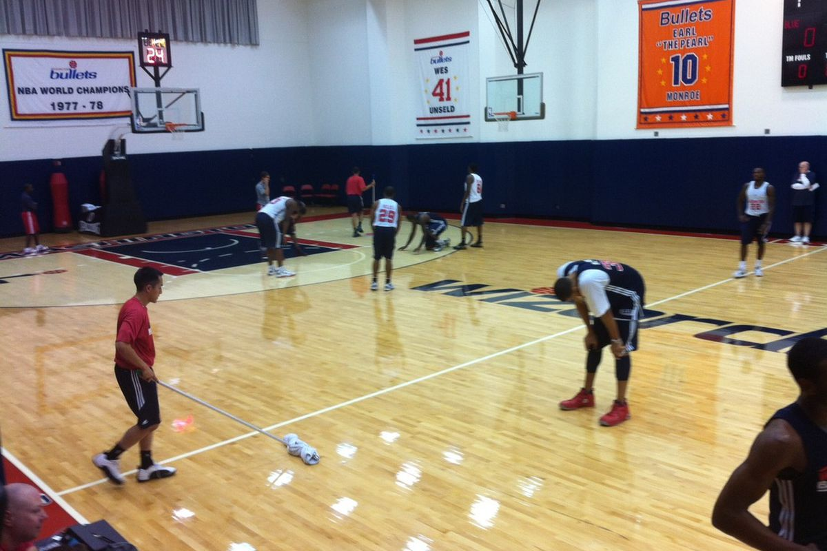 Wizards training camp