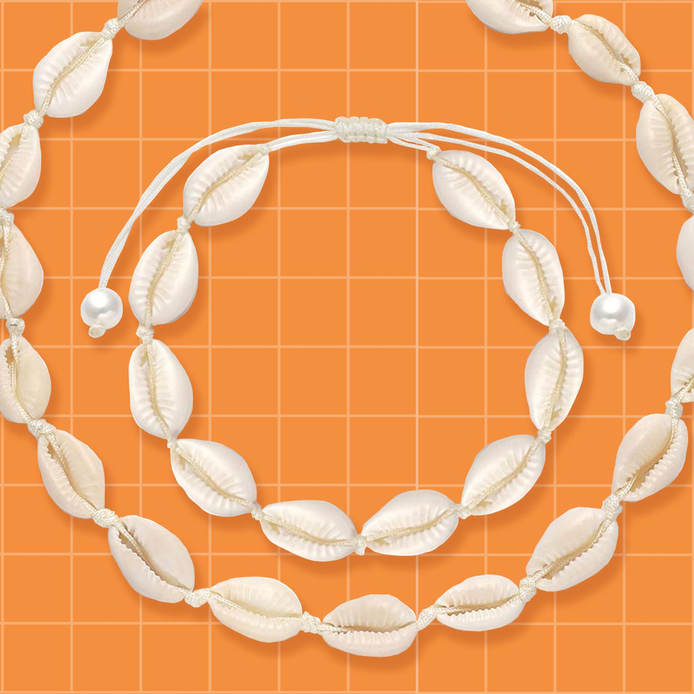 Puka Shell Necklace One-of-a-Kind