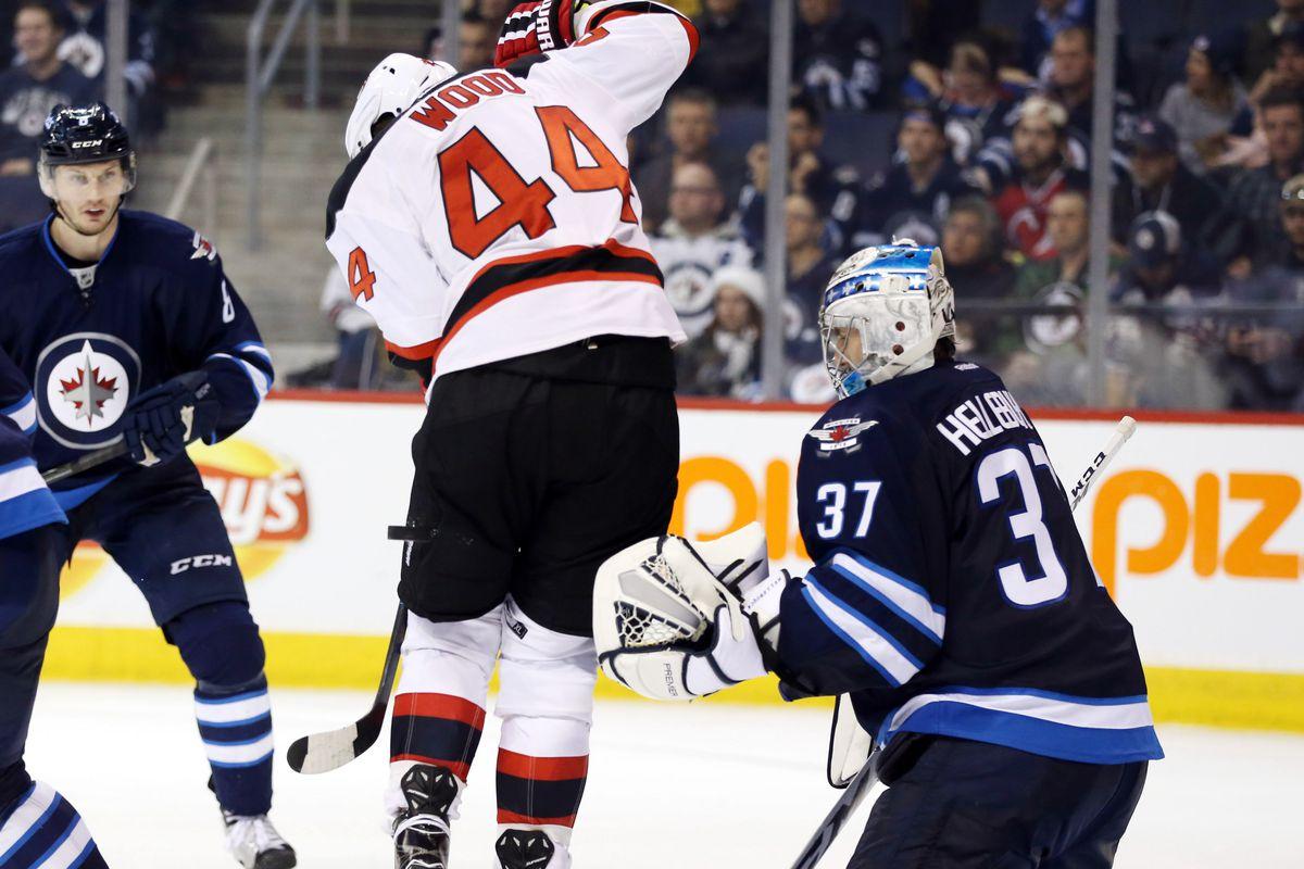 NHL: New Jersey Devils at Winnipeg Jets