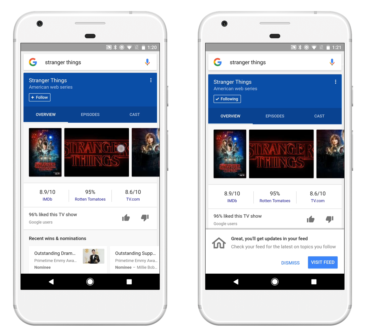 Google introduces the feed, a personalized stream of news on iOS and