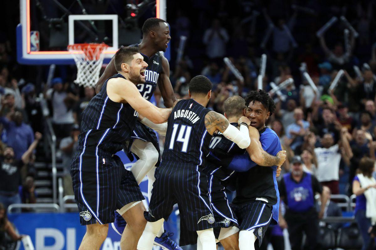 Magic Vs Raptors Game 3 Preview The Return Of The Orlando Magic S Home Court Advantage Orlando Pinstriped Post
