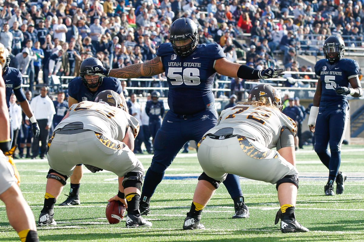 Former Utah State defensive tackle AJ Pataiali'i could be a sleeper to watch this preseason.